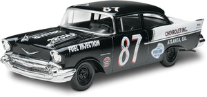 1957 Chevy Black Widow Stock Race Car 2 in 1