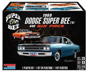 1/24 1969 Dodge Super Bee 440 Six Pack (2 in 1) - Hobby Sense