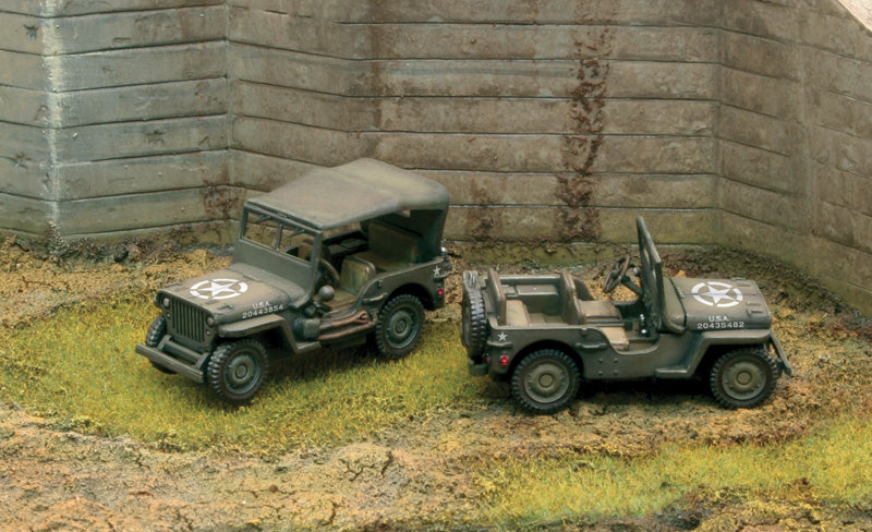 Willys Jeep 1/4 Ton 4x4 (FAST ASSEMBLY)