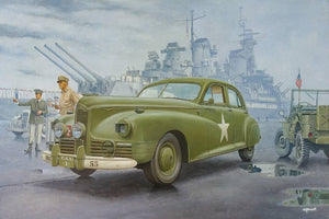 1/35 1941 Packard Clipper, WWII US Army Staff Car