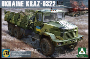 1/35 Ukrainian Kraz 6322 (Late Type)
