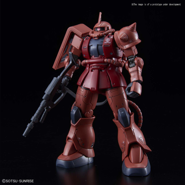 1/144 HG MS-06S Zaku III Principality of Zeon Char Aznable's Mobile Suits Red Comet Ver.