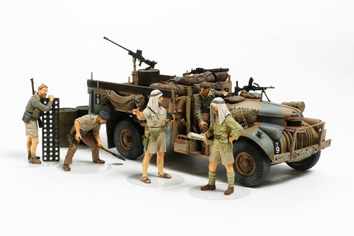 1/35 British LRDG Command Car North Africa - Hobby Sense
