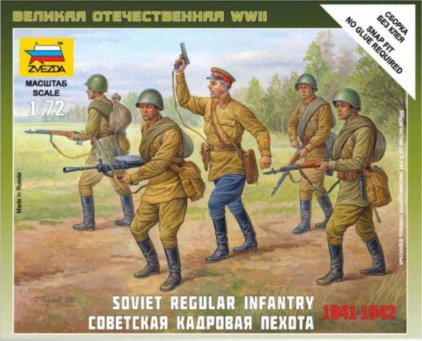 SOVIET REGULAR INFANTRY 1941-42