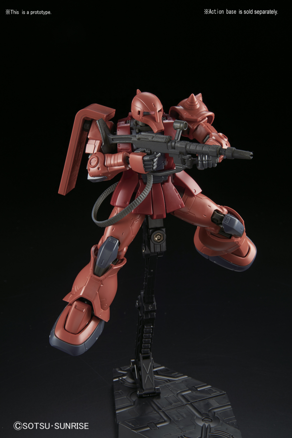 1/144 The Origin HG MS-05S Char Aznable's Zaku I