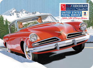 1/25 1953 Studebaker Starliner USPS with Collectible Tin - Hobby Sense