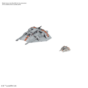 1/48 & 1/144 Snow Speeder Set - Hobby Sense