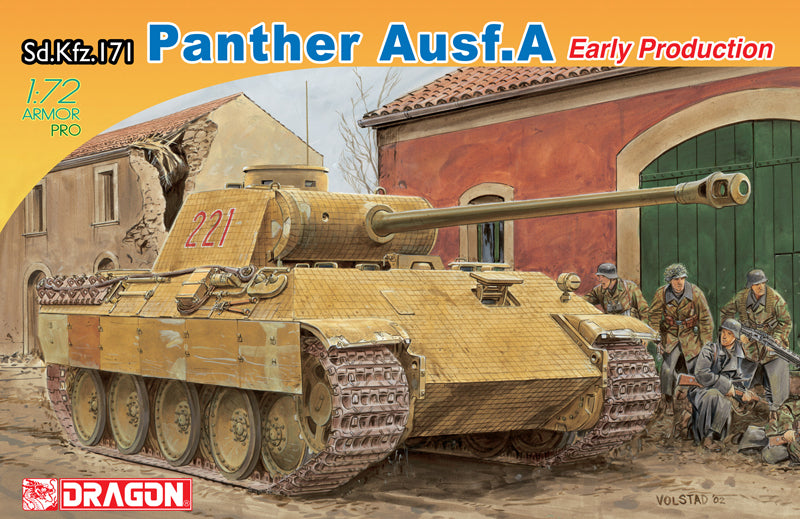 SdKfz 171 Panther A Early Tank