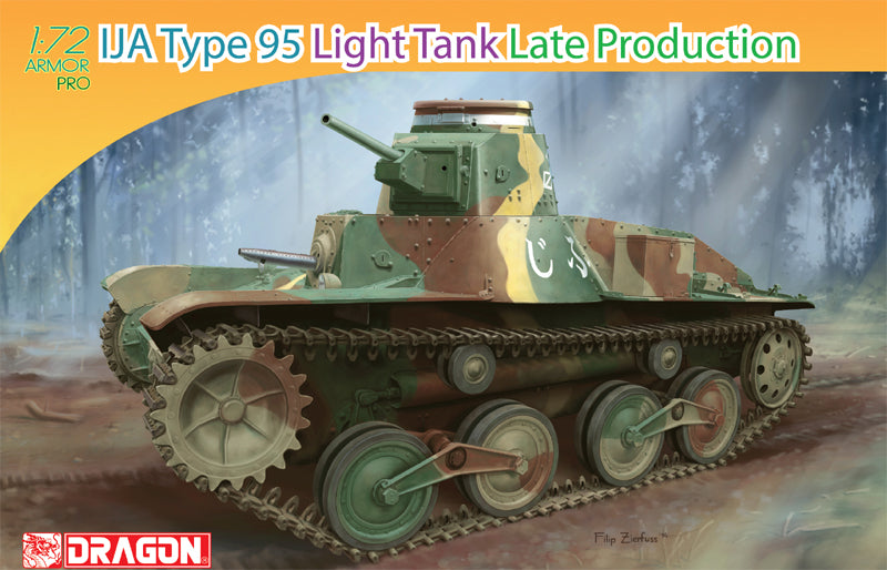 IJA Type 95 Late Production Light Tank