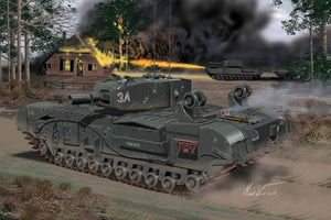 Churchill Mk IV AVRE Combat Engine Tank