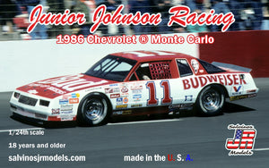 1/24 Junior Johnson Racing 1986 Chevrolet Monte Carlo - Hobby Sense