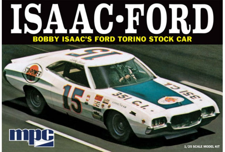 1972 FORD TORINO STOCK CAR-BOBBY ISAAC#15 STA-POWER