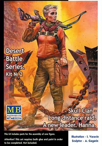 1/35 Desert Battle Series. Skull Clan – Long-distance raid. A new leader. Hanna - Hobby Sense