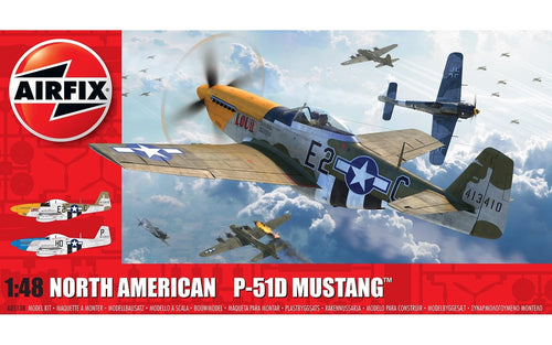 1/48 North American P51D Mustang (Filletless Tails)