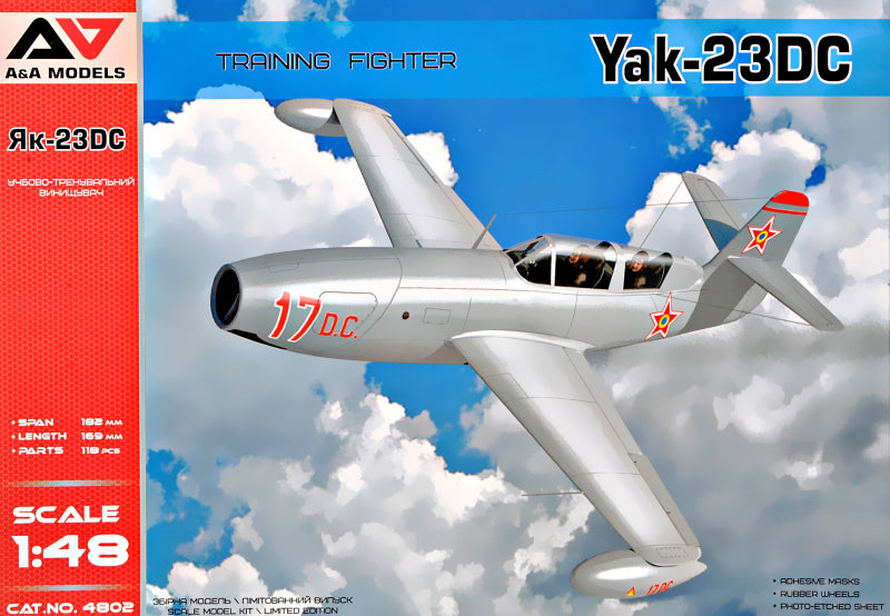 "Yak-23 D.C. (""Dubla Comanda"") Training Fighter - Hobby Sense"