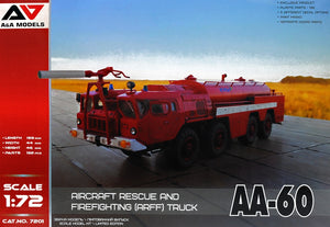 AA-60 aircraft rescue and firefighting (ARFF) truck
