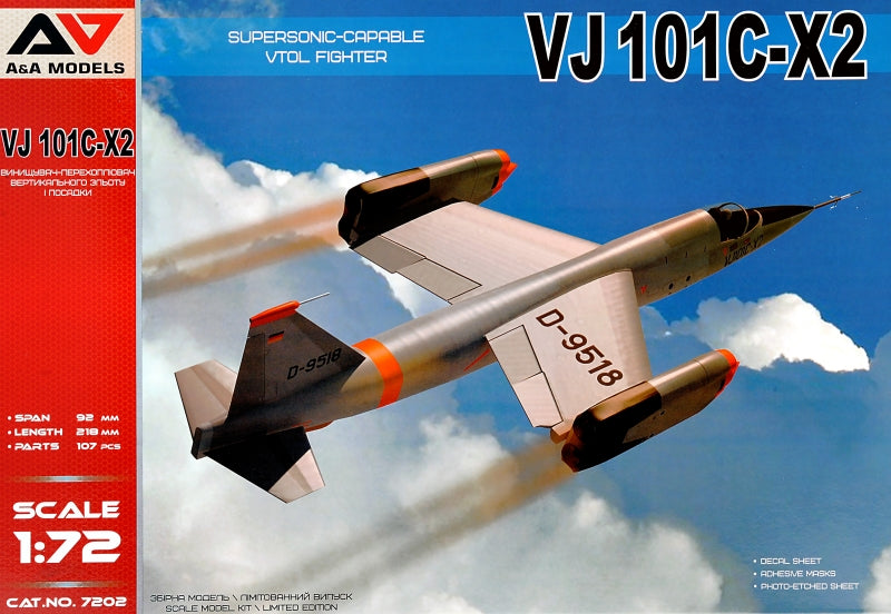 VJ101C-X2 Supersonic-capable vtol fighter - Hobby Sense