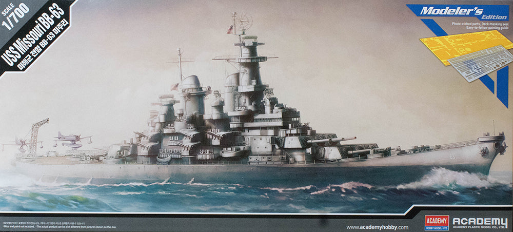 1/700 USS Missouri BB-63 Modelers Edition