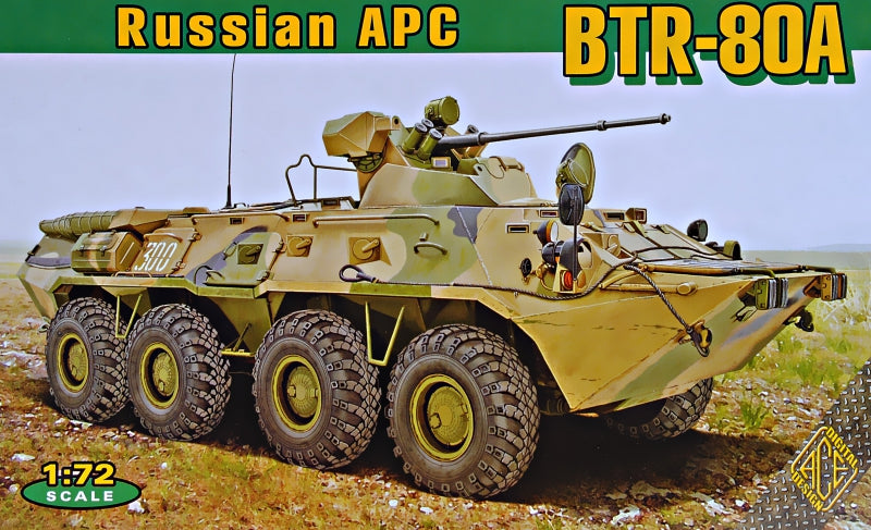 BTR-80A Soviet armored personnel carrier - Hobby Sense