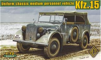 1/72 Kfz.15 Personnel vehicle with support axle - Hobby Sense