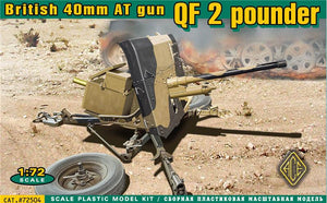 QF-2  pounder British 40 mm AT gun - Hobby Sense
