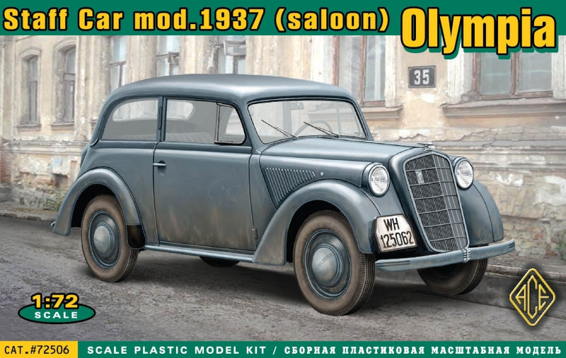 Olympia (saloon) staff car, model 1937 - Hobby Sense