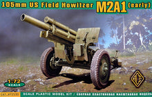 US 105mm Howitzer M2A1 w/M2 Gun Carriage - Hobby Sense