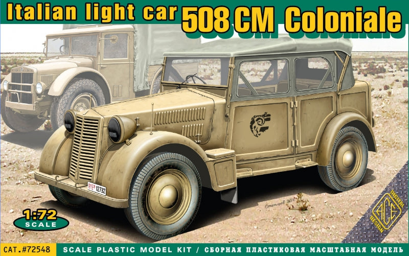508 CM Coloniale Italian light car