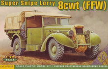 1/72 Super Snipe Lorry 8cwt (FFW - Fitted For Wireless) - Hobby Sense