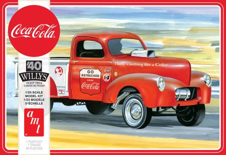 1/25 1940 Willys Pickup Gasser Coca Cola