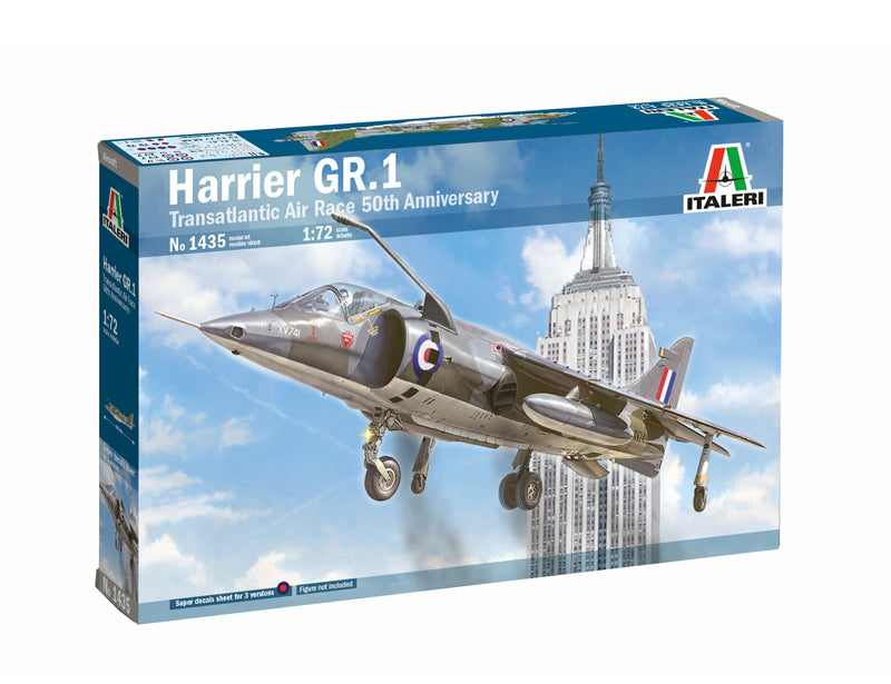 1/72 Harrier GR.1 Transatlantic Air Race 50th Anniversary - Hobby Sense