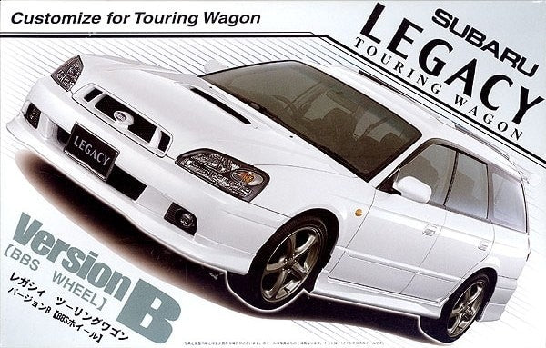 1/24 Subaru Legacy Version B 4-Door Touring Wagon - Hobby Sense