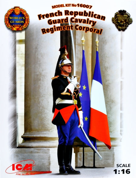 1/16 French Republican Guard Cavalry Regiment Corporal - Hobby Sense