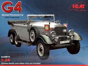 1/24 Typ G4 (1935 production), WWII German personnel car - Hobby Sense