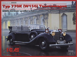 1/35 Typ 770K (W150) Tourenwagen, WWII German Leader's Car - Hobby Sense