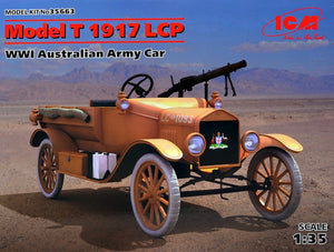 1/35 Model T 1917 LCP, WWI Australian Army Car - Hobby Sense