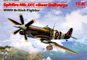 "1/48 Spitfire Mk.IXC ""Beer Delivery"", WWII British Fighter - Hobby Sense"