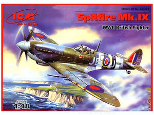 1/48 Spitfire Mk.IX WWII RAF fighter, flown by J.E. Johnson