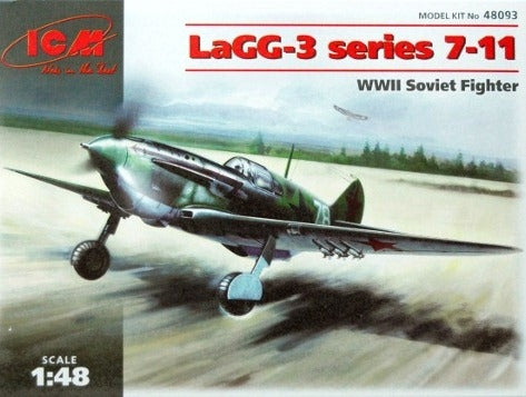 LaGG-3 series 7-11 WWII Soviet fighter - Hobby Sense
