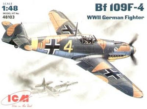 Messerschmitt Bf-109 F4 WWII German fighter - Hobby Sense