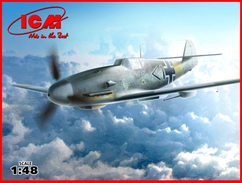 1/48 Messerschmitt Bf-109 F4/R6 WWII German fighter - Hobby Sense