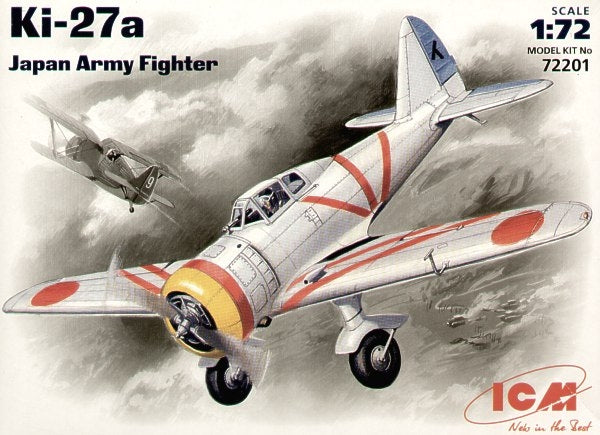 1/72 Ki-27a Japan army fighter - Hobby Sense