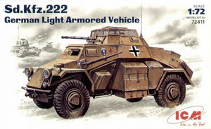 Sd.Kfz.222 WWII German armored car - Hobby Sense