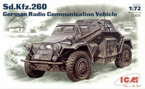 Sd.Kfz.260 WWII German radio car - Hobby Sense