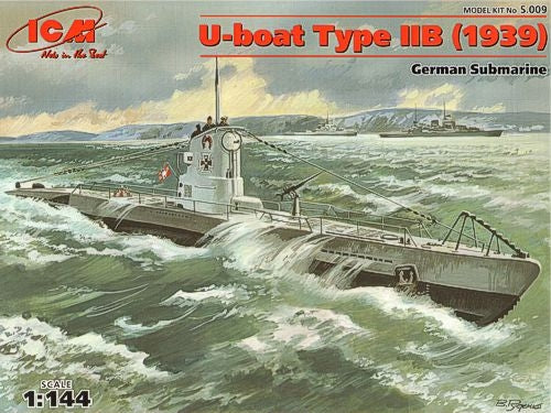 1/144 U-Boat Type IIB (1939) German submarine - Hobby Sense