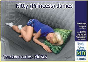 1/24 Kitty (Princess) James. Truckers series - Hobby Sense