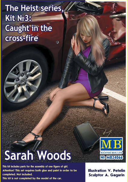 The Heist series, Kit #3: Caught in the cross-fire. Sarah Woods - Hobby Sense