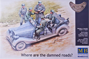 Where are the damned roads? - Hobby Sense
