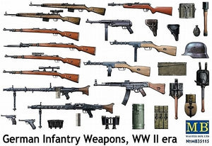 German infantry weapons, WW II era - Hobby Sense