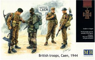 1/35 British troops, Caen, 1944 - Hobby Sense